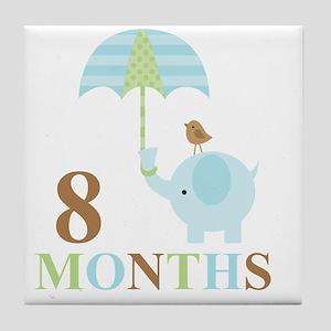 8 months Tile Coaster