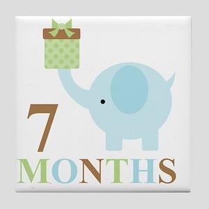 7 months Tile Coaster