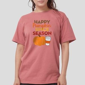Happy Pumpkin Spice Se Womens Comfort Colors Shirt