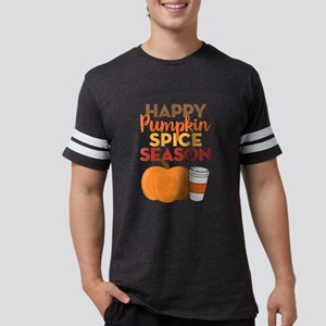 Happy Pumpkin Spice Season Mens Football Shirt