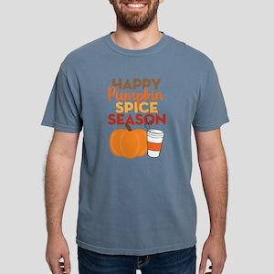 Happy Pumpkin Spice Seas Mens Comfort Colors Shirt