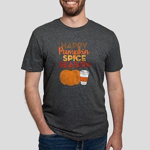 Happy Pumpkin Spice Season Mens Tri-blend T-Shirt