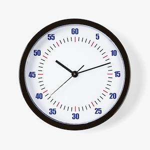 Swim Pace Wall Clock