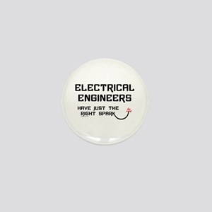 Electrical Engineers Sparks Mini Button