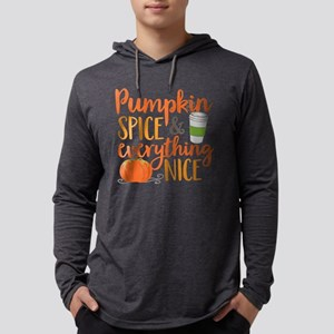 Pumpkin Spice and Everything Nice FB Long Sleeve T
