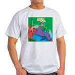 T-Rex Pole Vault Light T-Shirt