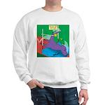 T-Rex Pole Vault Sweatshirt