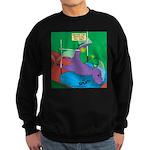 T-Rex Pole Vault Sweatshirt (dark)