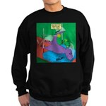 T-Rex Pole Vault Sweatshirt (dark)