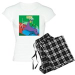 T-Rex Pole Vault Women's Light Pajamas