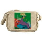 T-Rex Pole Vault Messenger Bag
