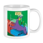 T-Rex Pole Vault 11 oz Ceramic Mug