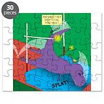 T-Rex Pole Vault Puzzle
