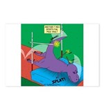 T-Rex Pole Vault Postcards (Package of 8)