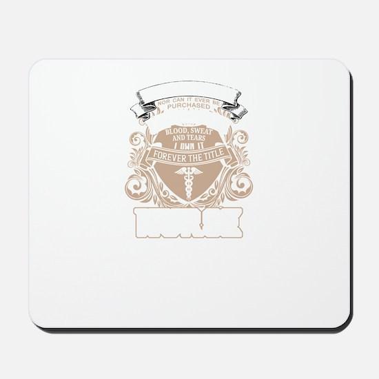 Super Cool Nurse Mousepad
