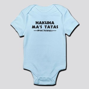 HAKUNA MA'S TATAS Body Suit