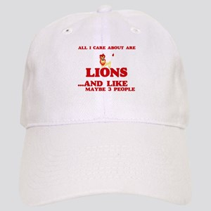 All I care about are Lions Cap
