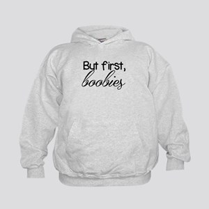 BUT FIRST BOOBIES BREASTFEEDING SHIRT Sweatshirt