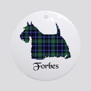 Terrier - Forbes Round Ornament