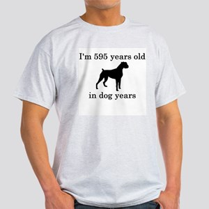 85 birthday dog years boxer T-Shirt