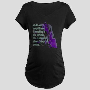 fuc_ex-girl Maternity Dark T-Shirt