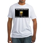 Shaken. Not Stirred Fitted T-Shirt