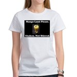 Shaken. Not Stirred Women's T-Shirt