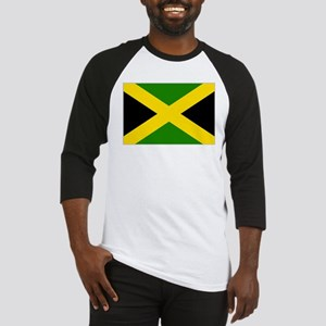 Jamaican Flag 4 Baseball Jersey