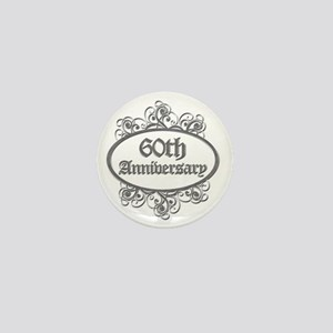 60th Aniversary (Engraved) Mini Button