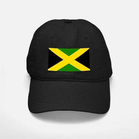 Jamaican Flag 4 Baseball Hat