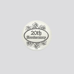 20th Aniversary (Engraved) Mini Button