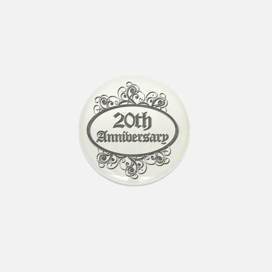 20th Aniversary (Engraved) Mini Button