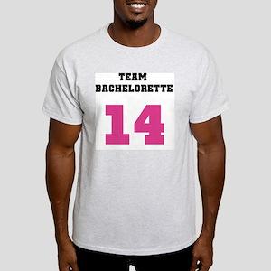 Team Bachelorette Pink 14 Light T-Shirt