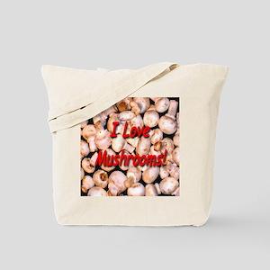 I Love Mushrooms! Tote Bag