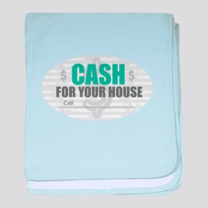 Cash for Your House baby blanket
