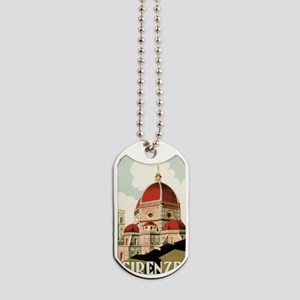 Vintage Firenze Italy Church Duomo Dog Tags