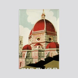 Vintage Firenze Italy Church Duom Rectangle Magnet