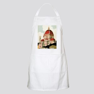 Vintage Firenze Italy Church Duomo Apron