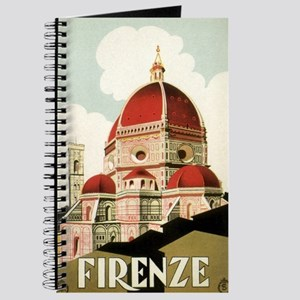 Vintage Firenze Italy Church Duomo Journal