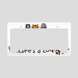 Atlanta Carnivores - Light License Plate Holder