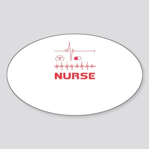 Nurse Save 100% Live Of Patients Sticker