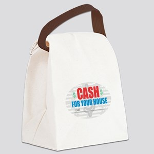 Cash for Your House Canvas Lunch Bag
