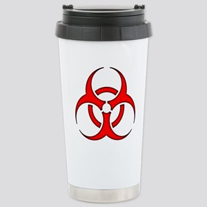 biohazard enhanced 3600 no background Travel Mug