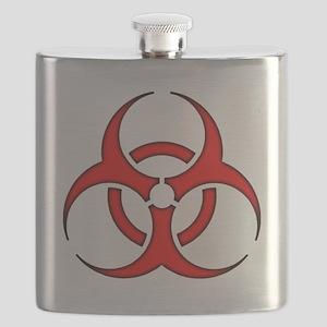 biohazard enhanced 3600 no background Flask