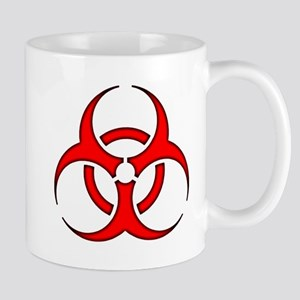 biohazard enhanced 3600 no background Mugs