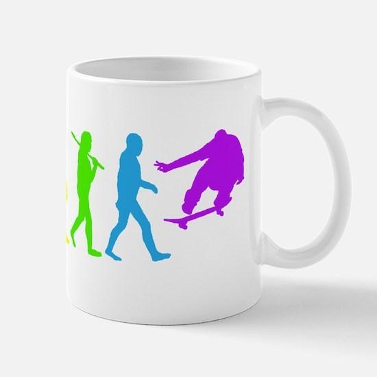 Skateboard Evolve   Mug