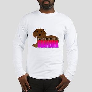 Dachshund Grandma Long Sleeve T-Shirt