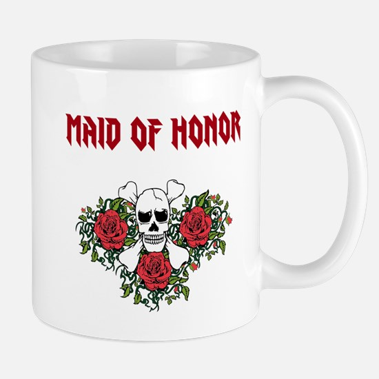 Maid of Honor Skulls Mugs