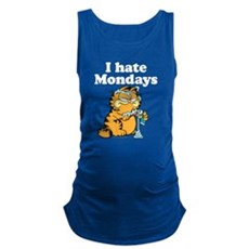 I Hate Mondays Maternity Tank Top