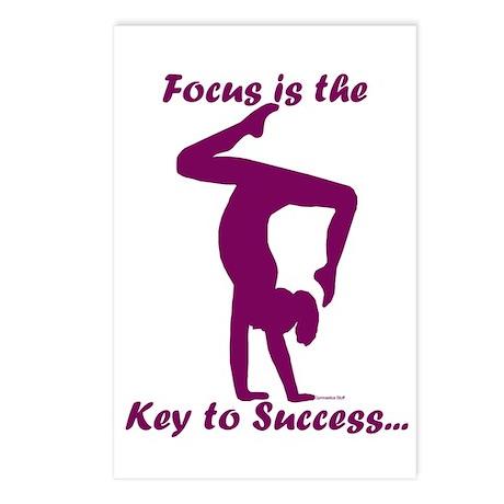 Gymnastics Postcards (8) - Focus